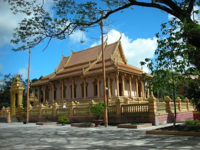 Chùa Khleang ở Sóc Trăng