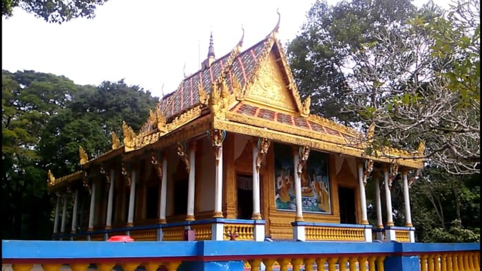 Kết quả hình ảnh cho SÓC TRĂNG chùa dơi