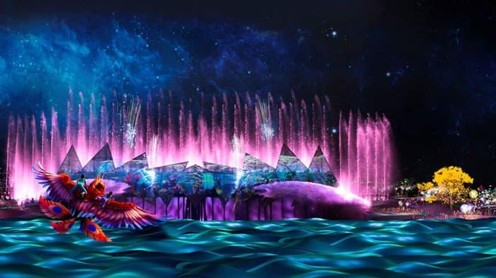 Nhạc nước Wings of Time Singapore