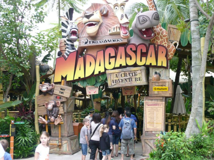 Khu rừng Madagascar