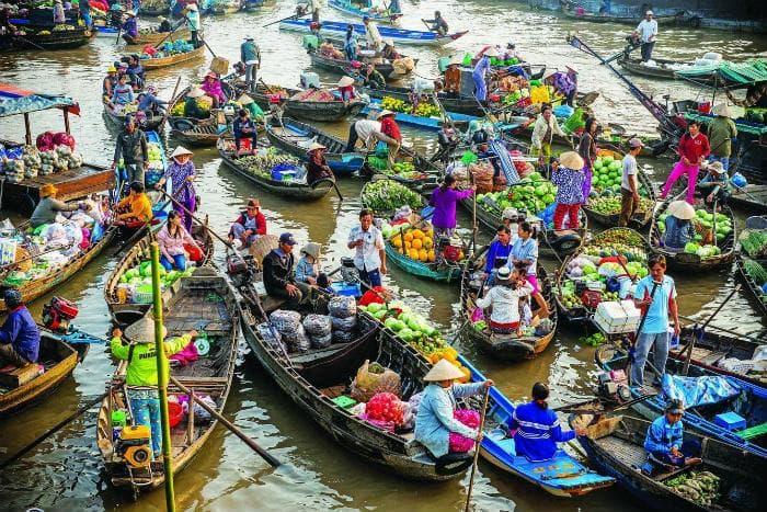 Chợ nổi miền Tây: Chợ nổi Trà Ôn ở Vĩnh Long