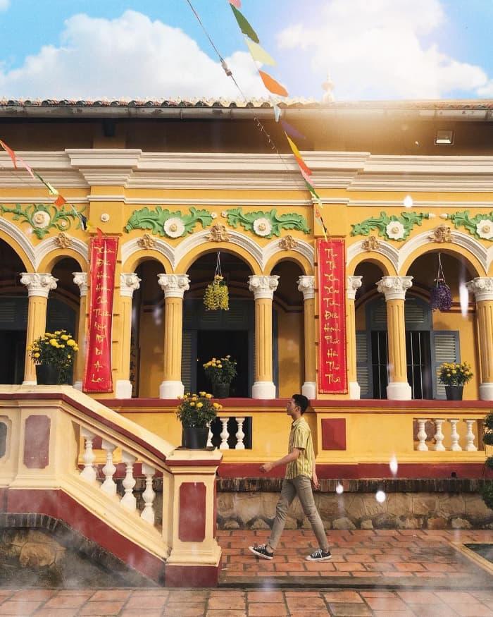 Chùa Nam Nhã - địa điểm tham quan du lịch Cần Thơ được nhiều du khách ghé thăm
