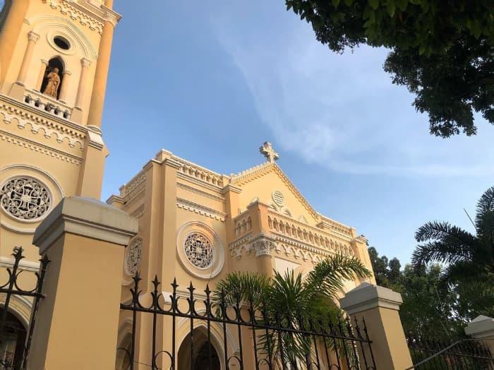 Địa điểm tham quan du lịch ở Tiền Giang - Nhà thờ Chánh Toàn ở Tiền Giang