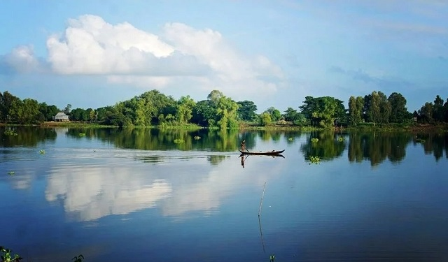 Du lịch Búng Bình Thiên (An Giang)