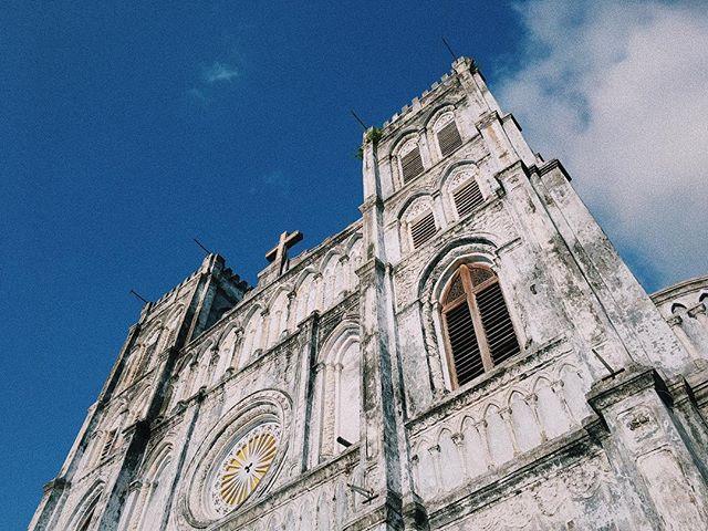 Kiến trúc phía trên nhà thờ Mằng Lăng Phú Yên