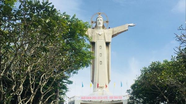 Tượng Chúa Kito vua ở Vũng Tàu