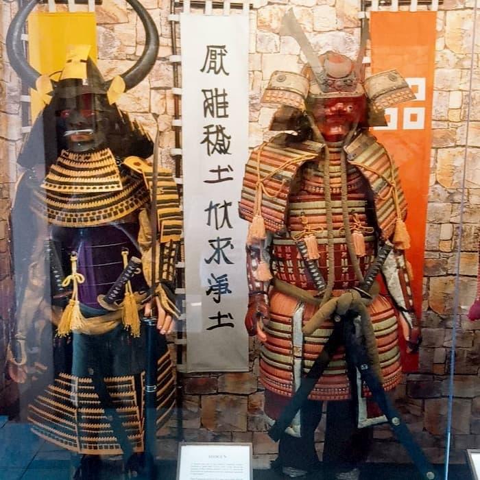 Trang phục Samurai  Nhật Bản ở Bảo tàng vũ khí