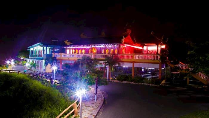 Khu du lịch Hồ Mây Vũng Tàu về đêm