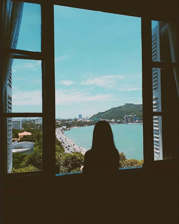 View nhìn từ Bạch Dinh