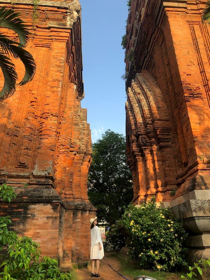 Tháp đôi Bình Định