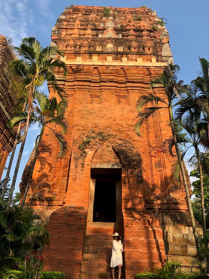 Tháp Đôi ở Quy Nhơn