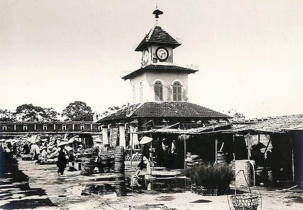 Chợ Đông Ba đầu thế kỉ XIX