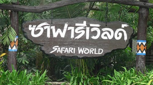 Vé Safari World Bangkok (Thái Lan)