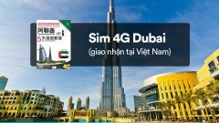Sim 4G Dubai (UAE) giao nhận tại Việt Nam