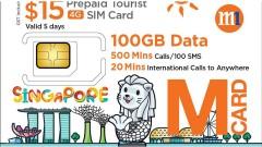 Sim 4G Singapore (nhận tại sân bay Changi)