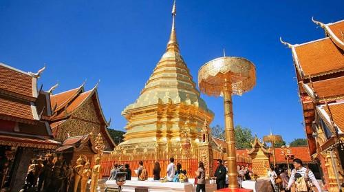 Tour Chiang Mai ½ ngày: Wat Doi suthep và các ngôi chùa