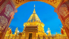 Tour Chiang Mai 1 ngày: Wat Doi Suthep và cung điện Phuping