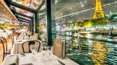 Vé đi thuyền ăn tối trên sông Seine (Dinner cruise)