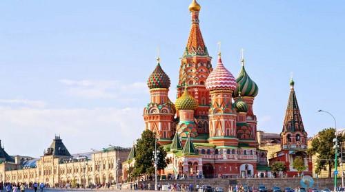 Tour Nga 8N7Đ: Moscow - St. Petersburg