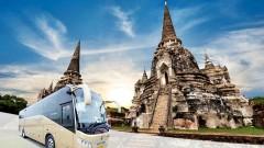 Vé xe bus từ Bangkok đi Ayutthaya (Thái Lan)
